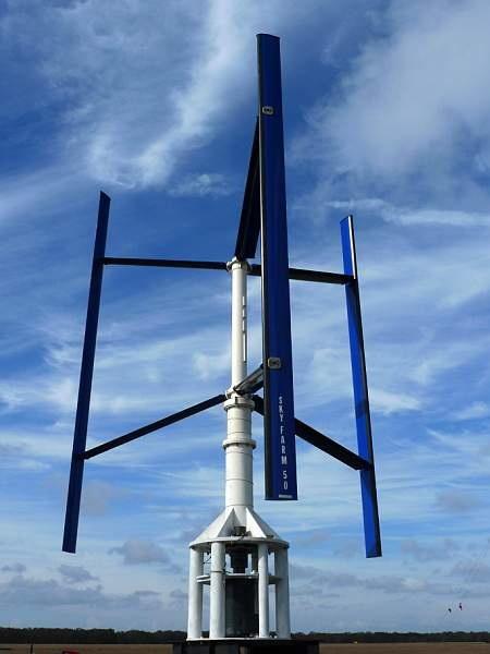 Editor S Choice The Vertical Axis Wind Turbine Sky Farm