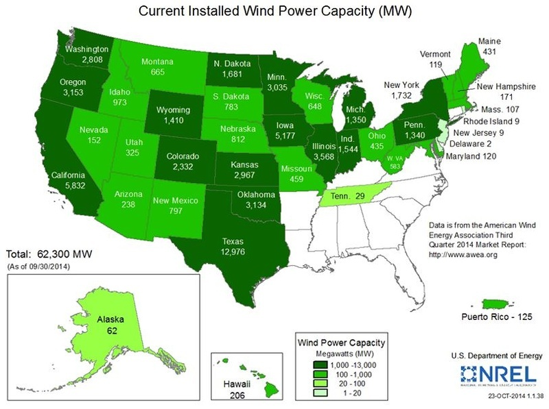 DOE updates resource maps to reflect advances in turbine technology