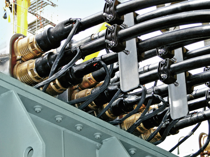 Germany Connex Offshore Certified Connection System For Up To 550